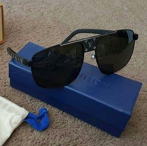 Louis Vuitton Pacific Monogram Black Sunglasses